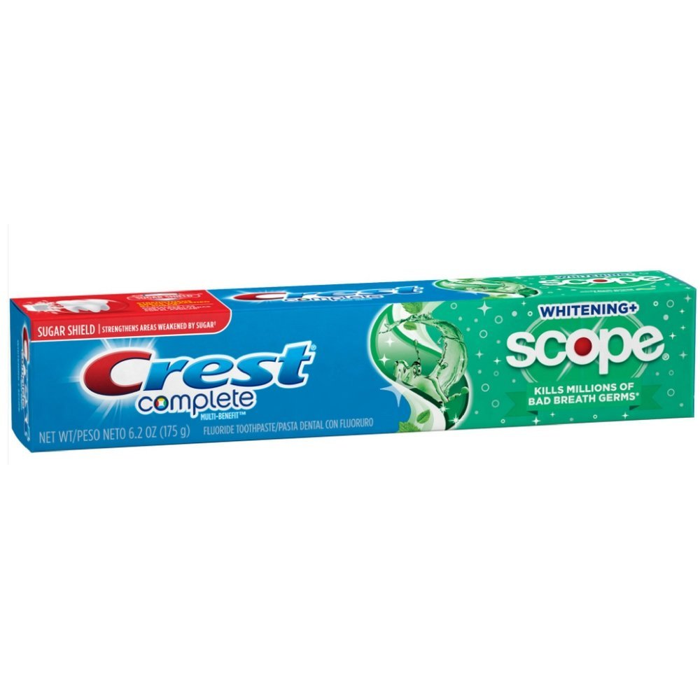 Crest Sensitivity Protection Whitening Plus Scope Toothpaste