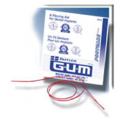 GUM Postcare Implant Floss Aid (25 Pack)