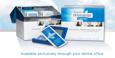 Crest Whitestrips Supreme Professional Tooth Whitening