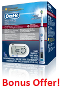 Oral B Triumph SmartSeries 5000 with SmartGuide Electric Toothbrush Plus Bonus Gifts